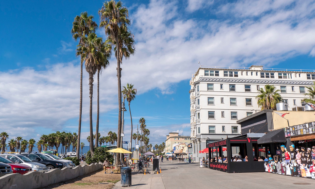 Venice Beach Boardwalk - One day in Los Angeles Itinerary