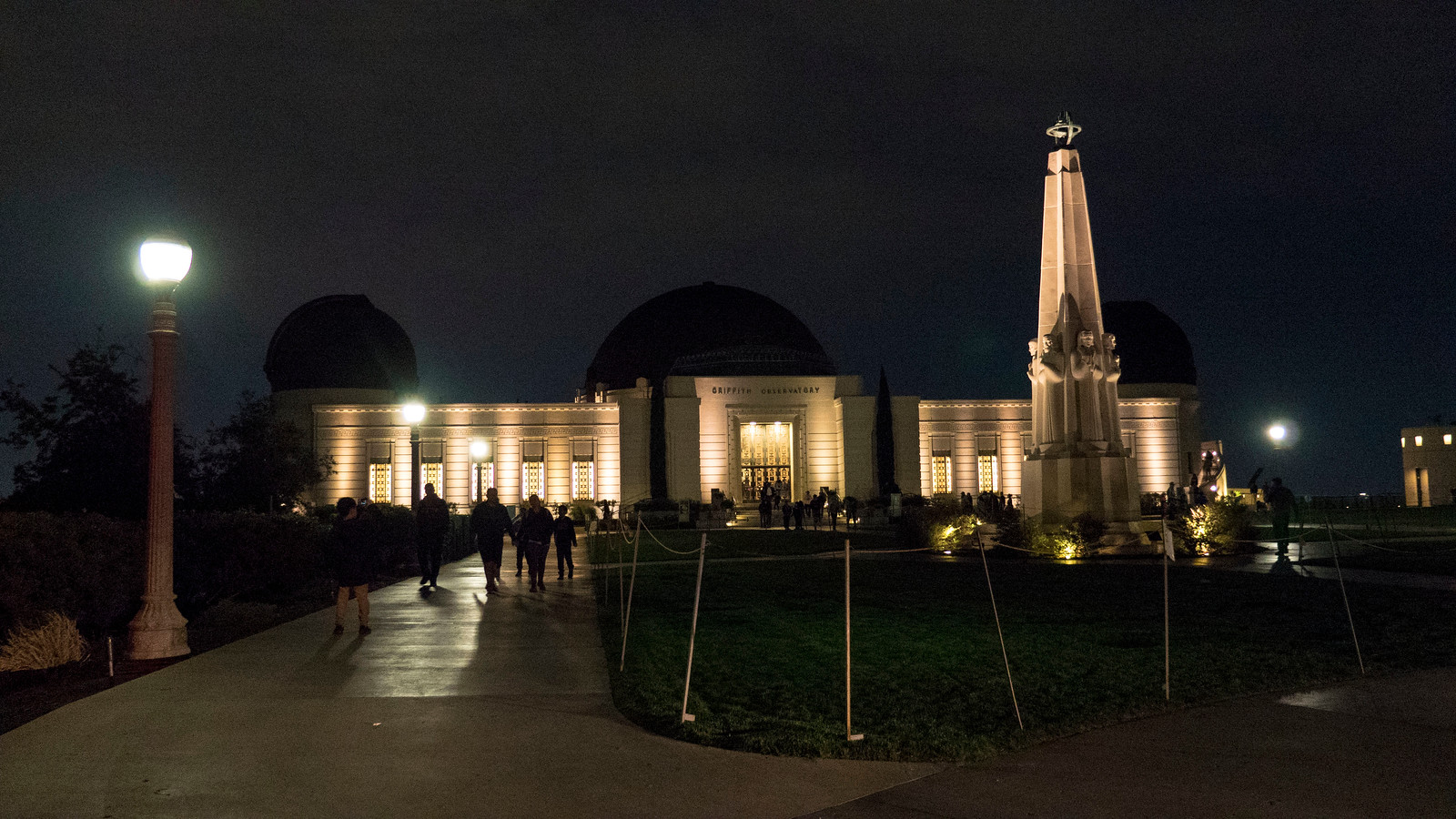 Griffith Observatory at night - Things to do in Los Angeles in one day