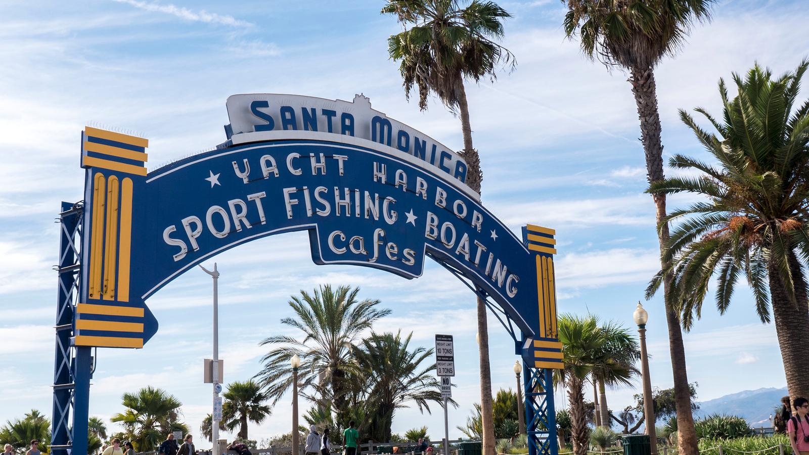Santa Monica Pier - Los Angeles in a day