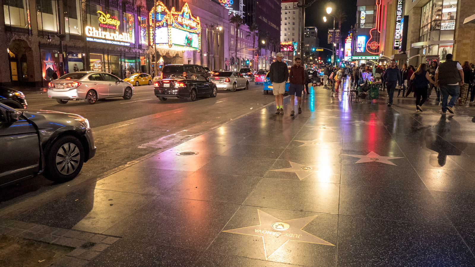 Hollywood Walk of Fame - Visiting Los Angeles for 1 day