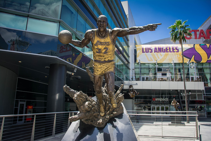 la lakers staples center