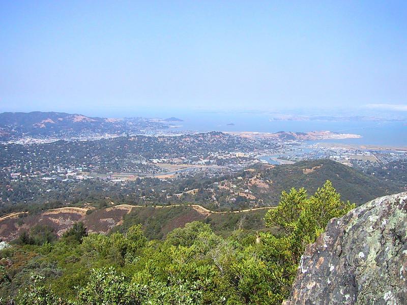 View from Mount Tamalpais