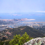 View from Mount Tamalpais – Marin County, California – Photo