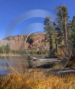 Lake Mary Mommoth Lakes California Overlook Autumn Blue Art Printing Grass Fine Art Photos Forest - 014312 - 19-10-2014 - 6738x7981 Pixel