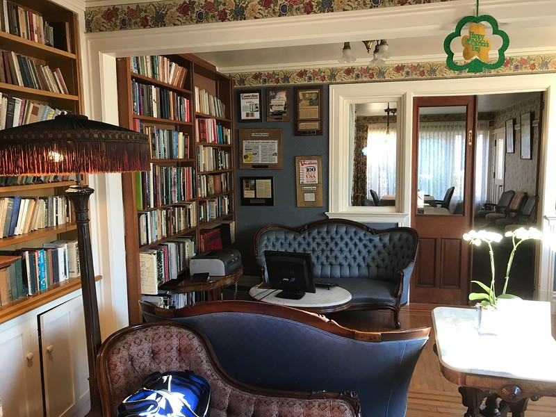 Parlor - Martine Inn - Pacific Grove