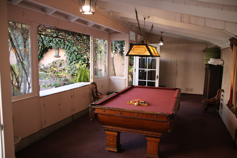 Pool Room - Martine Inn - Pacific Grove