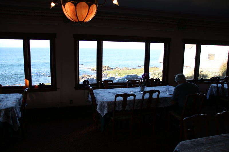 Breakfast Room - Martine Inn - Pacific Grove