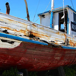 Old Boat – Moss Landing, California – Photo