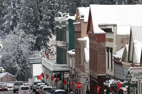 Nevada City snow