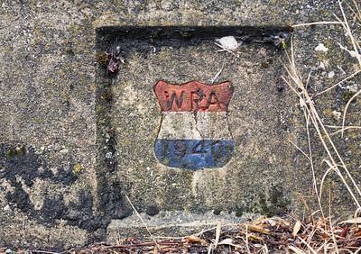 WPA emblem, Nevada City