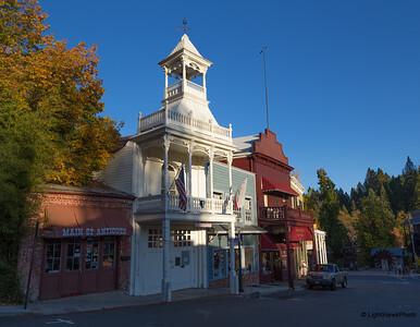 Firehouse Museum, Nevada City, CA