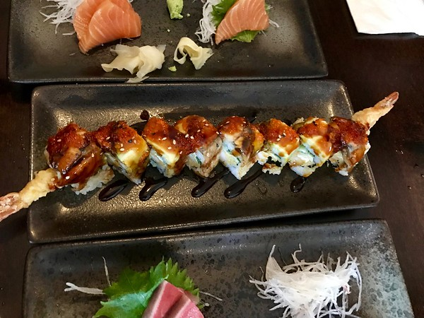 Dragon Roll - The Japanese Restaurant - Pacifica