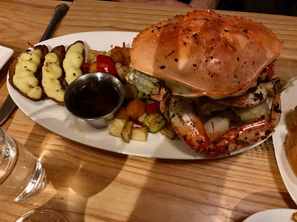 Crab - Moonraker - Pacifica, California