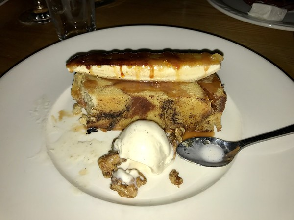 Bananas Foster / Bread Pudding - Moonraker - Pacifica, California
