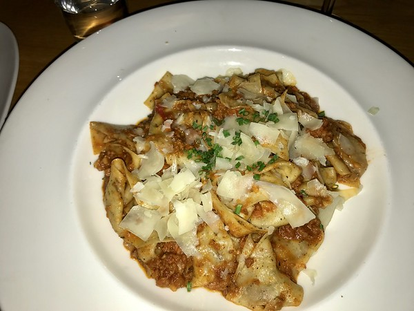 Wild Boar Bolognese - Moonraker - Pacifica, California