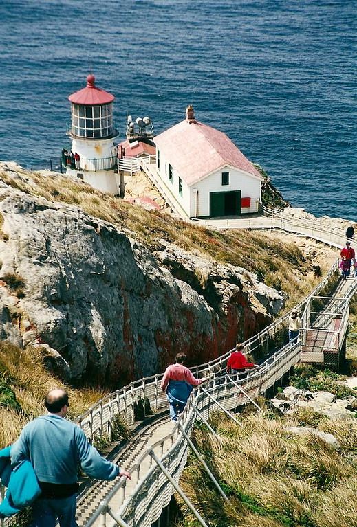 Point Reyes Lighthouse - Point Reyes National Seashore