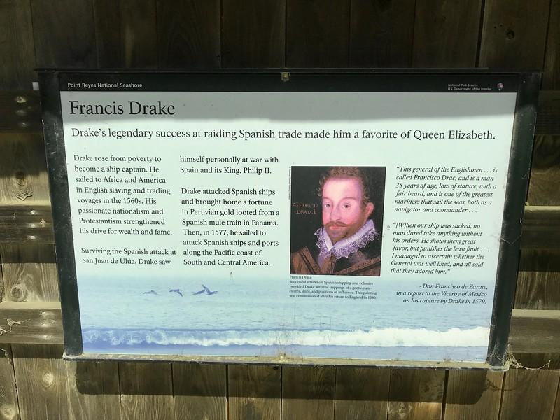 Sir Frances Drake - Point Reyes National Seashore