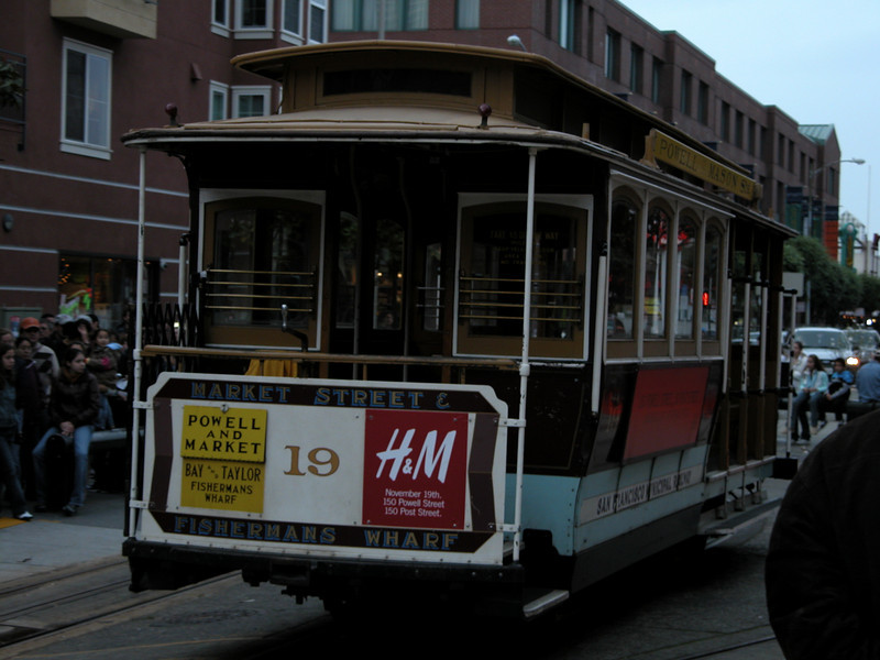 Powell and Mason St Cable Car