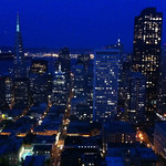 Nighttime Skyline – San Francisco, California – Daily Photo