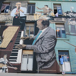 Jazz Mural in North Beach – San Francisco, California – Photo