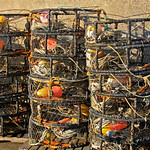 Crab Traps at Fisherman's Wharf – San Francisco, California – Photo