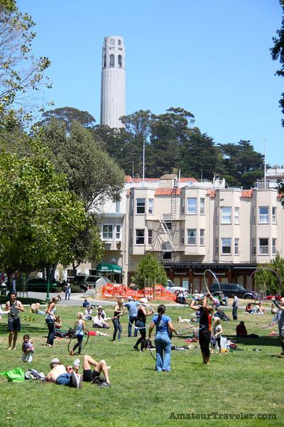Washington Square Park San Francisco