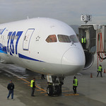 Flying the Boeing 787 Dreamliner on ANA from San Jose to Tokyo