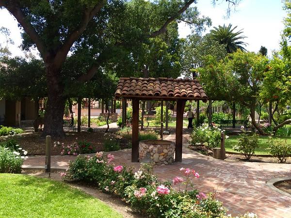 San Luis Obispo Mission Gardens