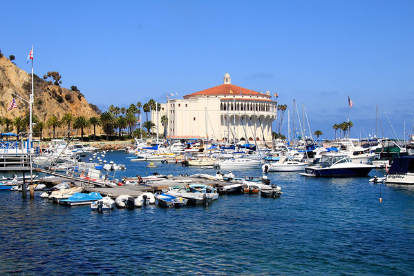 Santa Catalina Island Harbor and Casino