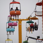 Sky Ride at the Boardwalk – Santa Cruz, California – Photo