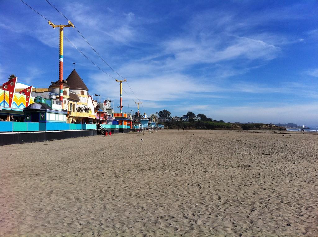 Winter Beach Day - Santa Cruz, California