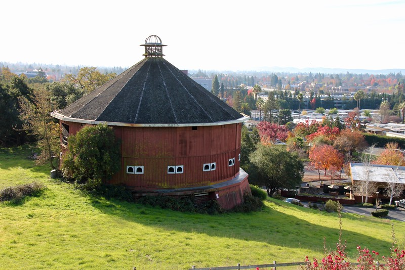 Round Barn from Kanaye Nagasawa's Fountaingrove ranch
