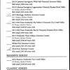 St Francis Winery - Wine List