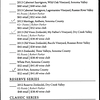 St Francis Winery - Wine List