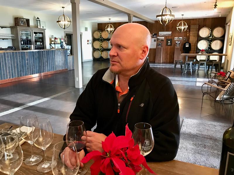 Rene Byck from Paradise Ridge Winery