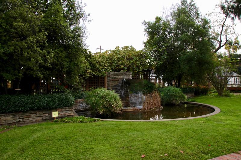Luther Burbank Home & Gardens - memorial garden