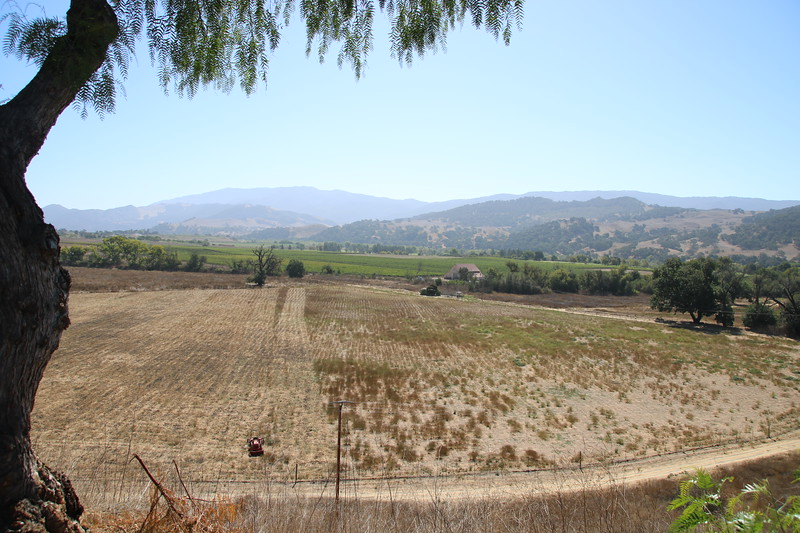 Santa Ynez Valley viewed from Old Mission Santa Inés - Solvang, California