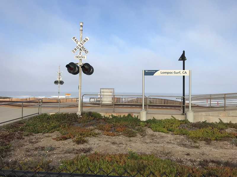 Amtrak Lompoc Surf