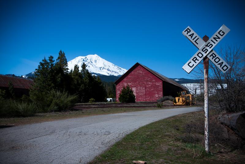 Railroad to Shasta