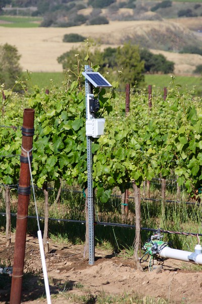 Hahn Family Winery weather station
