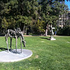 UCLA sculpture garden