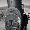 Old furnace  - Bodie - ghost town - state Historical state park