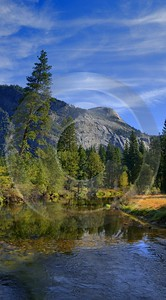 Yosemite Nationalpark California Waterfall Merced River Valley Scenic Lake Forest Stock Images - 009086 - 07-10-2011 - 4553x8220 Pixel