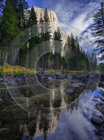 Yosemite Valley Merced River National Park Sierra Color Fine Art Photo Landscape Photography - 014265 - 20-10-2014 - 7253x9782 Pixel
