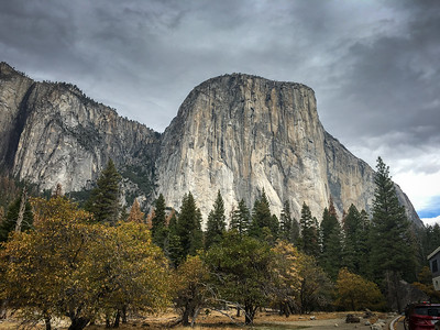 Yosemite National Park is in California's Sierra Nevada mountains.