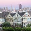 Painted Ladies, Steiner Street near Alamo Park, San Francisco, California