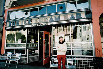 San Francisco - a soda fountain