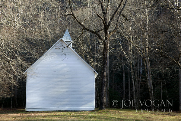 Palmer Chapel Methodist Church, Cataloochee Valley, Great Smoky Mountains National Park, North Carolina
