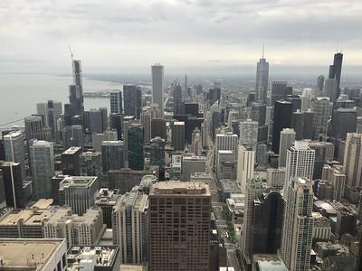 96th floor view  - John Hancock Building
