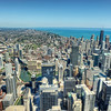 Perched above Chicago